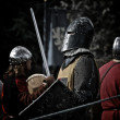 Group of  Knights — Stock Photo