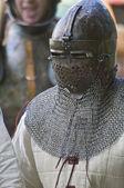 Um cavaleiro — Foto Stock