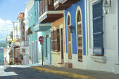 Puerto Rico Street — Stock Photo