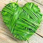 Hearts of grass — Stock Photo