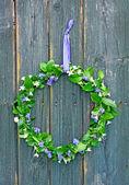 Flower wreath — Fotografia Stock