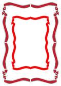 Zwei verschiedene varianten eines frames — Stockvektor