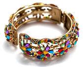 Decorative bracelet isolated on white background — Stock Photo