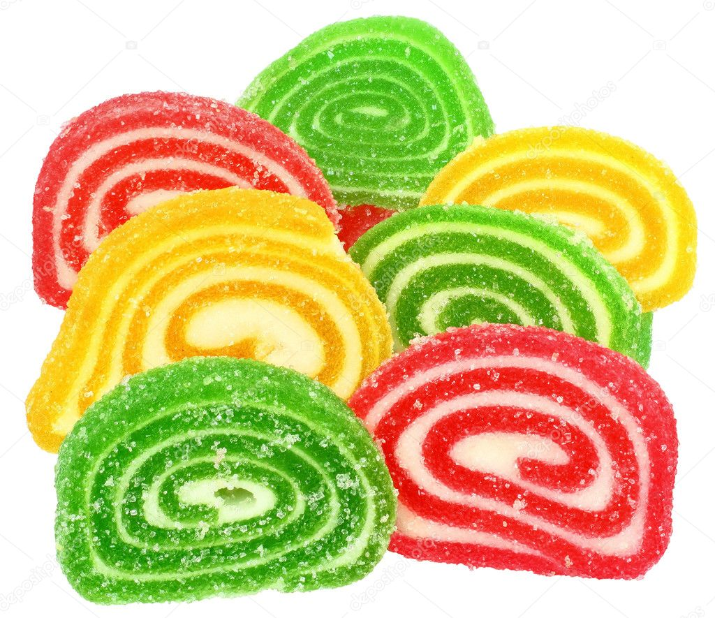 Candy on a white background. — Stock Photo #8941151