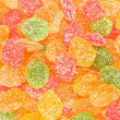 Stock Photo: Sprinkle colored candy closeup.