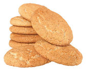 Heap cookies isolated. — Stock Photo