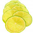 Sliced lime — Stock Photo #9190611