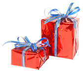Two boxes with gifts — Stock Photo