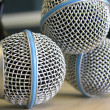Three Microphones — Stock Photo #8987560