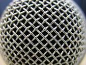 Microphone Macro — Stock Photo