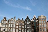 Amsterdam Houses — Stock Photo