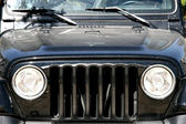 Jeep - Front View — Stock Photo