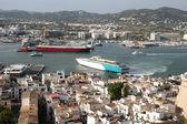 Aerial View of Ibiza Town — Stock Photo