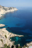 Aerial View Ibiza Island Coastline — Stock Photo