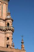Tower in Plaza Espana, Sevilla — Stock Photo