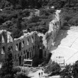 Ancient Odeon of Herodes Atticus theater on Acropolis hill in Athens, Greece — Stock Photo