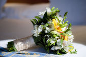 Bouquet of bride — Stock Photo