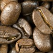 Stock Photo: Fresh roasted coffee beans