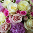 Stock Photo: Beautiful bouquet of flowers
