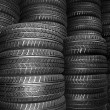 New car tyres — Stock Photo #9015117