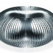 Stock Photo: Slinky fun