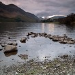 Stock Photo: Lake Buttermere and mountain landscape