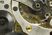 Pocket watch mechanism — Stock Photo