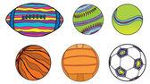 Abstract sport ball — ストックベクタ