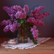 Still life with lilac flowers — Stock Photo #10518111