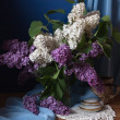 Still life with lilac flowers — Stock Photo #10518246