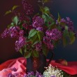Still life with lilac flowers — Stock Photo #10518514
