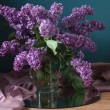 Still life with lilac flowers — Stock Photo #10518709
