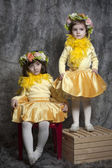 Little girls — Stockfoto