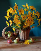 Yelow flowers — Stock Photo