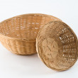 Stock Photo: Osier woven baskets