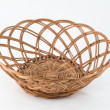 Osier woven baskets — Stock Photo
