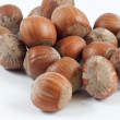 Stock Photo: Nuts on white