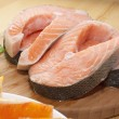 Stockfoto: Salmon steak