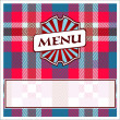 Menu Card Design — Stock Vector #10222629