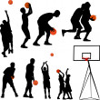 Stock Vector: Basketball-vector