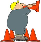 Megaphone Cone — Stock Photo