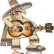 Mexican Musician — Stock Photo