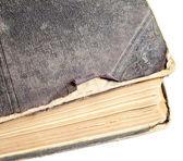 Libro viejo en el fondo — Foto de Stock
