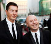 Domenico Dolce and Stefano Gabbana — Stock Photo