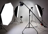 Photostudio equipment — Stock Photo