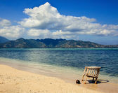 Beautiful sea and coastlines of Gili Air. — Stock Photo