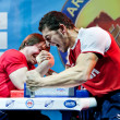 Stock Photo: Armwrestling Championship in Moscow
