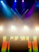 DJ at a nightclub on the scene — Stock Photo