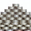 Pyramid of the coins — Stock Photo #9187568