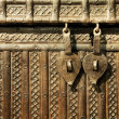 Antique chest — Stock Photo